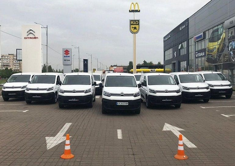 Автомобили Citroen Berlingo для НОВОЙ ПОЧТЫ